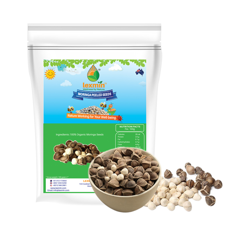 Lexmin™ Organic Moringa Normal Seeds (100gram) – Lexmin Global